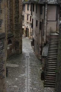 Conques alley