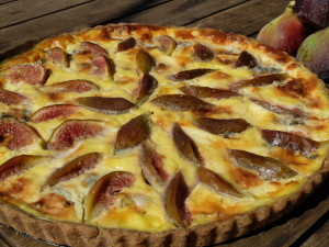 Fig and Roquefort Tart